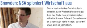 Snowden im NDR